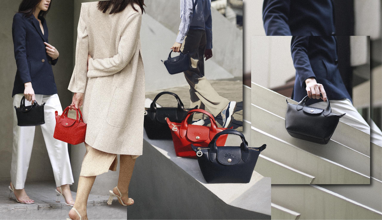 ฮอตฮิตอีกระลอกกับกระเป๋ารุ่น Le Mini Pliage Cuir จาก Longchamp
